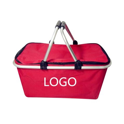 2 handles Insulated Cooler Picnic Basket