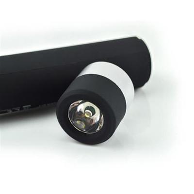 2200mah Flashlight Music Torch With Power Bank