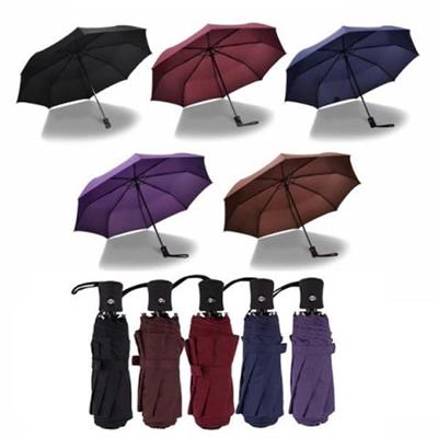3-section Auto Open Folding Umbrella