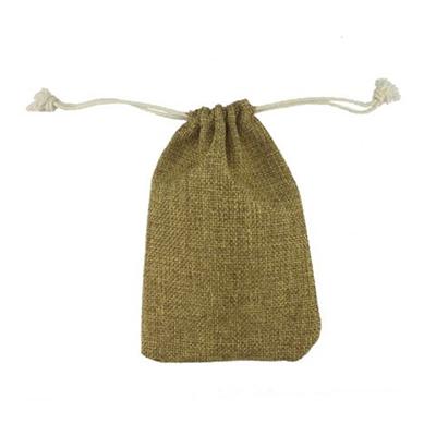 4 x 6 Handy Linen Drawstring Bag