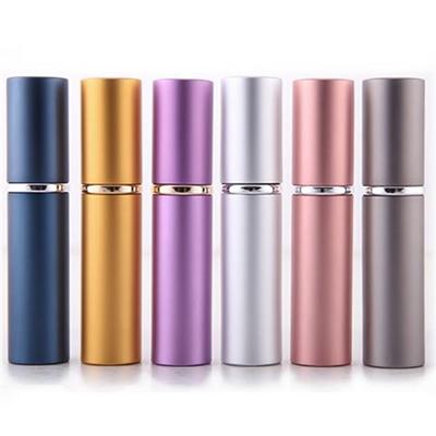 5ml metal Mini Travel Atomizer Refillable Perfume Spray case
