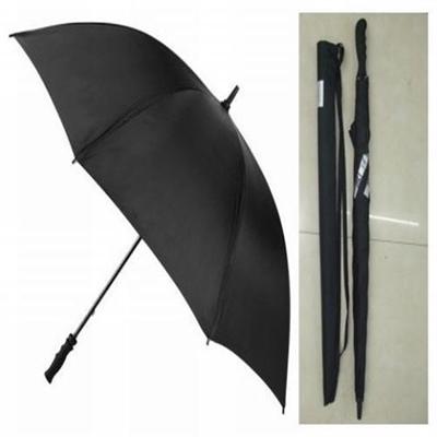60 Executive Deluxe Stick fiberglass Pongee golf umbrella