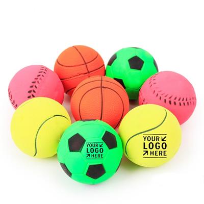 6CM Rubber Bouncy Ball/Dog Ball Thrower