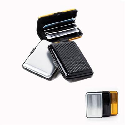 Aluminum Secure Credit Card Wallet