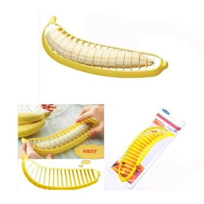Banana Slicers Fruit Cutter