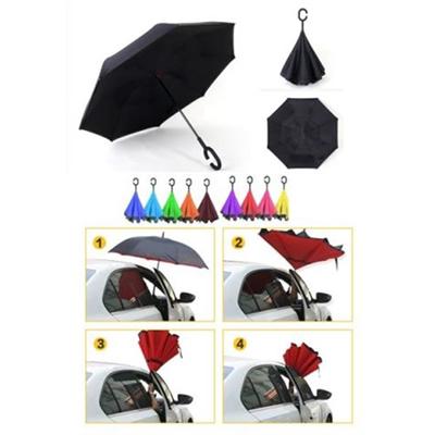 C Handle Reverse Open Umbrella