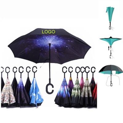 C Handle Reverse Umbrella