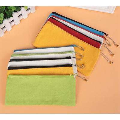 Colorful Canvas Pencil Bag