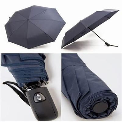 Executive Auto open 3 section Compact Slim folding umbrellas