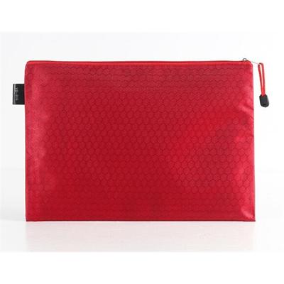Fabric Document Folder Hand Bag with Zipper