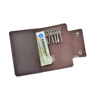 Fashion Leather Key Case Wallet card hold Key Holder