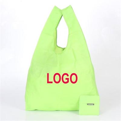 Folding Polyester Vest Bag