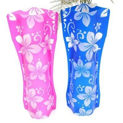 Foldover vase PET vase