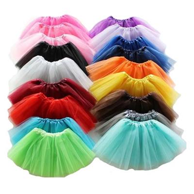 Girls Three Layers Tutu Skirts