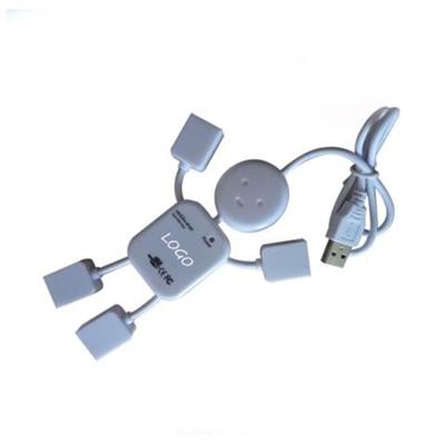 Human Shape 4 Port USB Hub