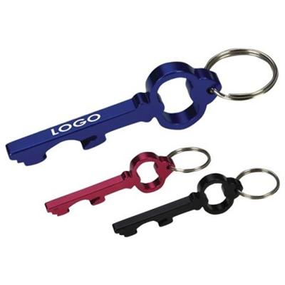Key Shape Bottle Opener With Key Ring