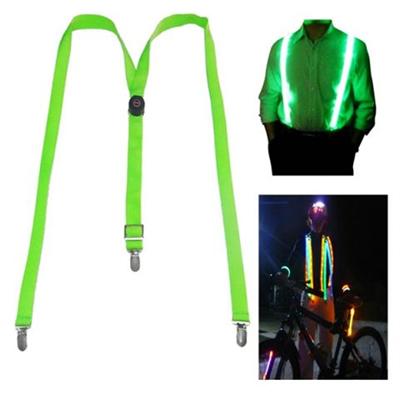 Light Up LED Suspenders