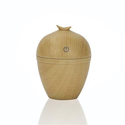 Mini Portable Wood Grain USB Ultrasonic Aroma Humidifier