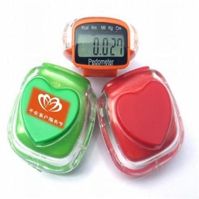 Multi functional Sweet Heart shape Pedometer