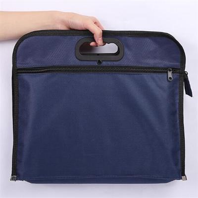 Nylon Fabric A4  Document Folder Hand Bag