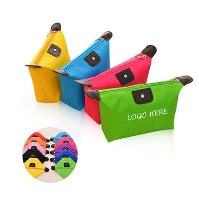 Nylon Foldable Travel Cosmetic Bag