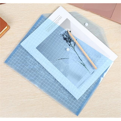 PP Translucent Mesh Document Folder Wallet