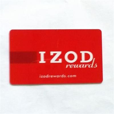 Personalized PVC membership cards