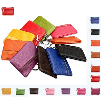 Pocket Leather Wallet Key Holder