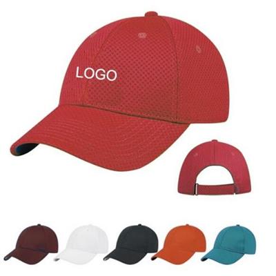 Polyester Sports Mesh Cap
