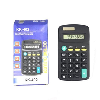 Portable 8 Digits Small Calculators With Solar Power