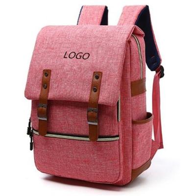 Preppy look backpack bag