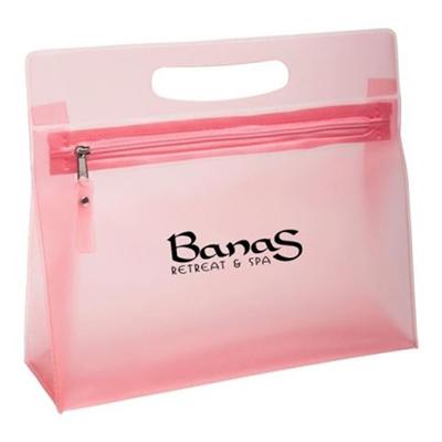 Promotional Gift Ladies Vanity Bag/PVC Cosmetic Tote Bag w/