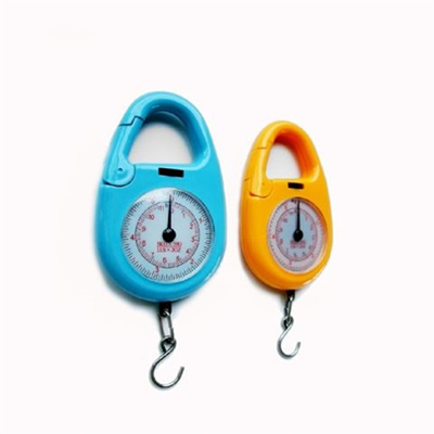 Round Dial Weight Luggage Hanging Scale 10kg 22lb