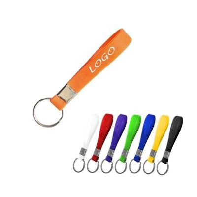 Silicone Bracelet Keychain