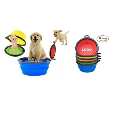 Silicone Foldable Pet Bowl