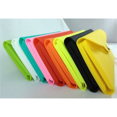 Silicone Purse Wallet Bag Pouch for Coin Card Key Digital