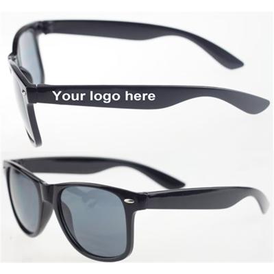 Solid Black Sunglasses