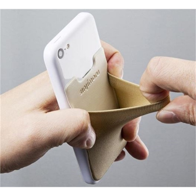 Spandex Cell Phone Card Holder/Wallet