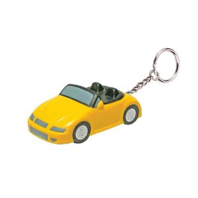 Sports Car Stress Reliever Keychain