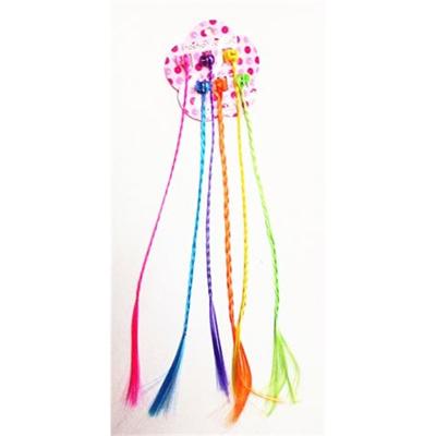 Tri Color Braided Hair Pieces