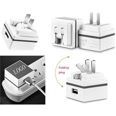 UL Foldable USB Wall Charger